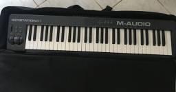 Controlador M áudio 61 Keystation(Usado poucas vezes)