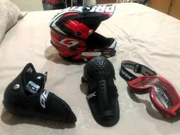Kit motocross infantil