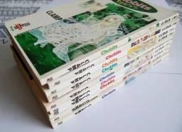 Lote 9 Revistas Mangá Chobits Nºs 1-9 Jbc 1ª Ed. Brasileira