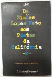 Livro: De Simões Lopes Neto aos Poetas da Califórnia<br>