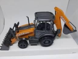 Miniatura retroescavadeira case miniatura