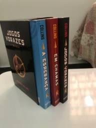 Livros - Trilogia Jogos Vorazes
