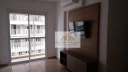 Apartamento com 2 dormitórios para alugar, 61 m² por R$ 1.600,00/mês - Vila Amélia - Ribei