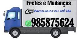 Viagens fretes mudanças carretos coletas entregas para todo Brasil