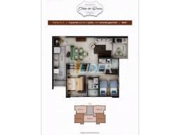 Apartamento à venda com 2 dormitórios em Tubalina, Uberlandia cod:20897