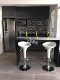 Studio com 1 dormitório para alugar, 70 m² por R$ 3.799,98/mês - Ponta da Praia - Santos/S