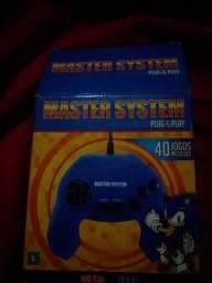 Master systerm com 40 jogos