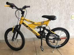 Bicicleta duplo amortecedor ARO 20-Araraquara