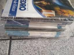 Livros Didáticos Poliedro e outros