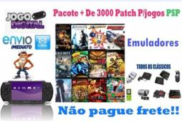 Pacote + 3000 patch para PSP