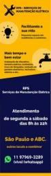 Serviços de manutenção elétrica