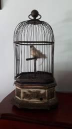 Gaiola Francesa com Pássaro