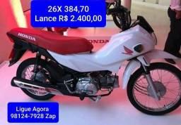 POP 110 Lance R$ 2.400,00 Consórcio em Andamento