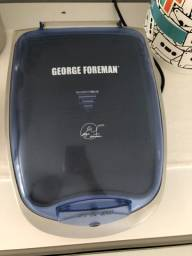 Vendo Grill George Foreman Prata Usado