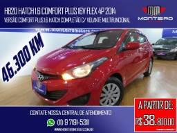 Hyundai HB20 Hatch 1.6 Comfort Plus 16v Flex 4p Completo Apenas 46.300 Km