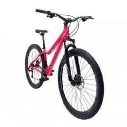 Bicicleta aro 29 tsw posh 21v rosa/preto