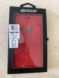 Case Ferrari compatível iPhone 8/7/6 Plus