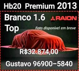 Hb20 Premium 1.6 Garantia de 1 ano Oportunidade