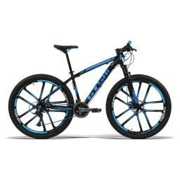 Bicicleta GTS Stilom New Aro 29 Freio a Disco Câmbio 21 Marchas e Rodas de Magnésio