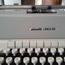 Máquina de escrever Olivetti Linea 98
