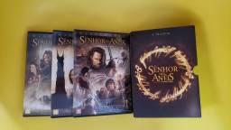 Título do anúncio: Box Trilogia Senhor dos anéis em DVD