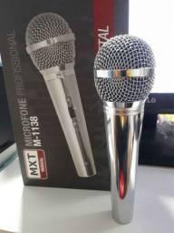 Microfone Profissional Metal Mod. Elvis Presley