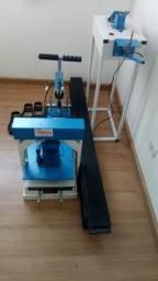Maquina de fazer chinelos compacta print