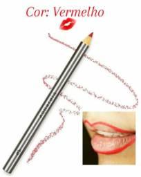 Lápis para Contorno dos Lábios Natura Aquarela - 1,4 g<br>Cor: Vermelho Santana-AP