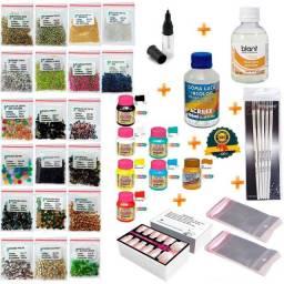 Kit Manicure Para Fazer Adesivos Artesanais