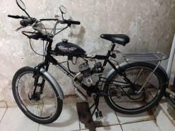 Vendo bicke motorizada motor 80cc 2 tempos
