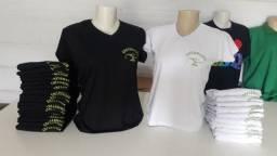 Serigrafia e sublimação em camisas
