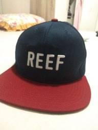 Boné original da marca REEF aba reta
