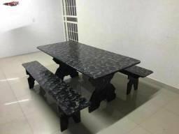Linda mesa de ardósia 3 metros