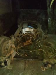 Caixa tração S10 4x4 diesel. Ano 2000. Peças consulte