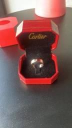 Anel Cartier Banhado Ouro rose