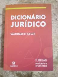 Livro Direito - Dicionário Jurídico - 2020