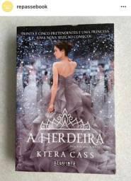 Livro A herdeira- Kiera Cass