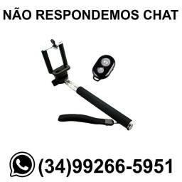 Pau de Selfie para Fotos c/ Controle Bluetooth * Fazemos Entregas