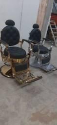 Cadeira de barbeiro & cadeira de salão de beleza && lavatório - kit estética