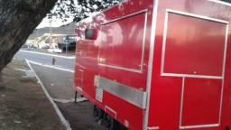 Fabrica minas treilher trailler de lanche e food truck 4,00 metros