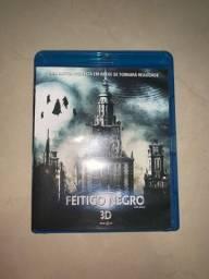 DVD Blu-ray 3D Feitiço Negro