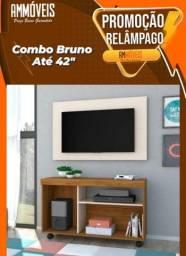 """Promoção Combo Bruno p/ TV até 42"""" Entrega e Montagem Grátis"""
