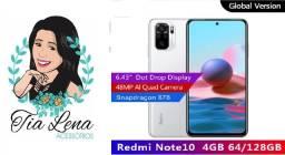 Redmi Note 10 4gb+64gb Branco Lançamento !!