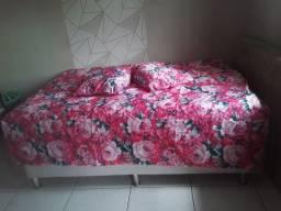 Colcha cama de casal mais dois travesseiros