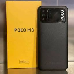 Xiaomi Poco M3 64gb/4gb Com Garantia De 6 Meses Cor Preto