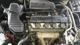 Honda Civic 2004 1.7 16v completo ar direção vidro e trava