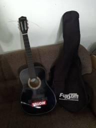 Vendo violão top cordas de aço