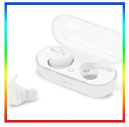Fone De Ouvido Sem Fio TWS Y30 Intra-Auricular Bluetooth 5.0 Sem fio