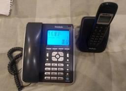 Telefone sem fio e de mesa