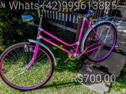 Bicicleta feminina diamant